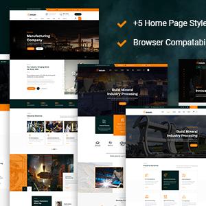 Download induzin - Industry & Factory HTML Template