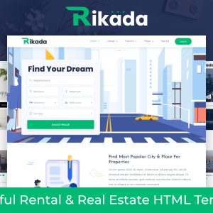 Download Rikada - Real Estate HTML Template