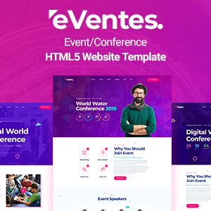 Download Eventes - Conference and Event HTML Template