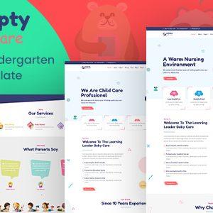 Download Humpty | Daycare&PreschoolHTML Template