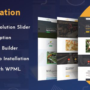 Download Cultivation - Organic Food Farming WordPress Theme