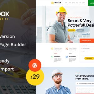 Download Buildox - Construction and Building WordPress Theme