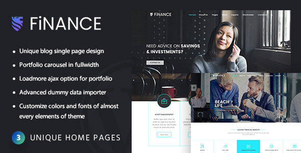 Download Finance - Accounting WordPress