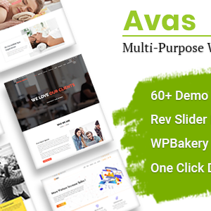 Download Avas | Multi-Purpose WordPress Theme