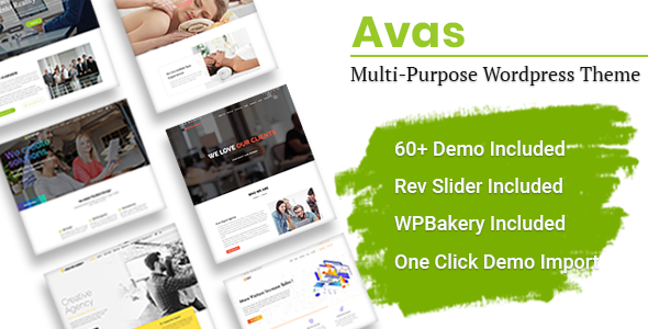 Download Avas   Multi-Purpose WordPress Theme