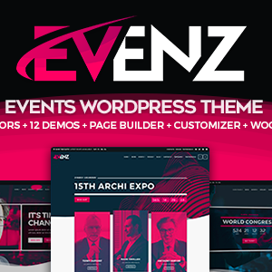 Download Evenz - Conference and Event WordPress Theme