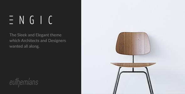 Download Engic - A Sleek Multiuse Responsive WordPress Theme