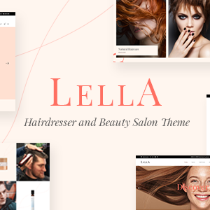 Download Lella - Hairdresser and Beauty Salon Theme