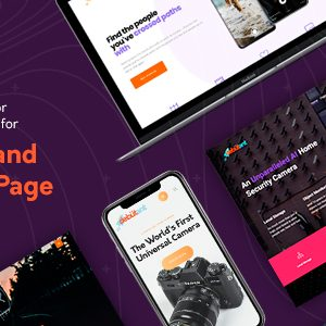 Download Debutant - Landing Page WP theme